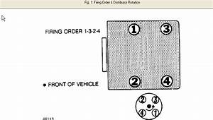 What Is The Firing Order On A 1991 Subaru Loyale