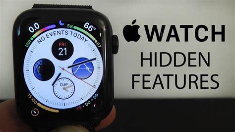 Apple Watch Series 4 Hidden Features