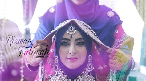 gaun pengantin ala india muslim inspirasi pernikahan