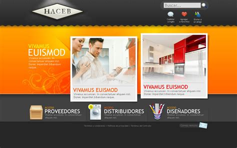 Home Design Website Free : Web Design For Haceb Home By Camilojones On Deviantart