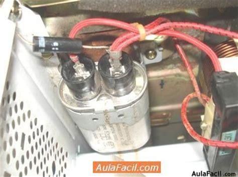 curso gratis de reparaci 243 n de microondas camiar el capacitor de la fuente de alimentaci 243 n