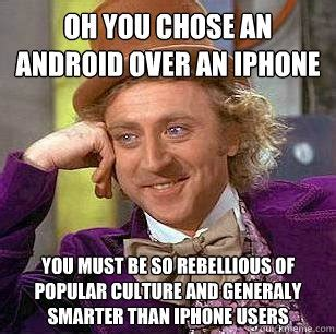 Make A Meme Iphone - 10 signs that you re a fanboy churchmag
