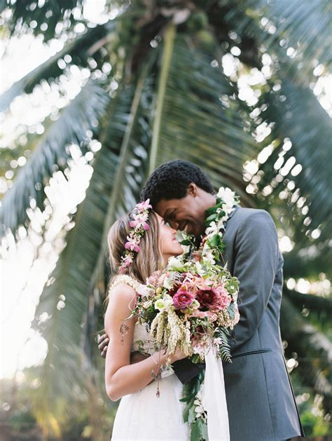 intimate tropical wedding   sugarman estate