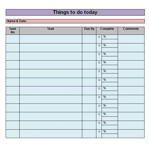 sample   list templates    sample