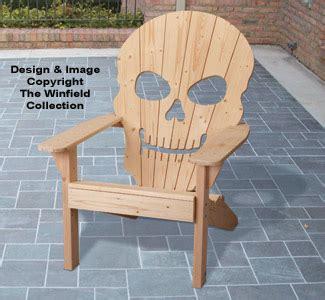 adirondack furniture plans adirondack skull chair plan