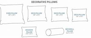 Are you using the right size pillow for Accent pillow sizes