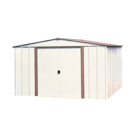Metal Storage Shed Home Depot by Shop Arrow Galvanized Steel Storage Shed Common 8 Ft X 6
