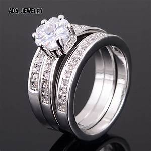 high quality cz wedding rings awesome navokalcom With quality cz wedding ring sets