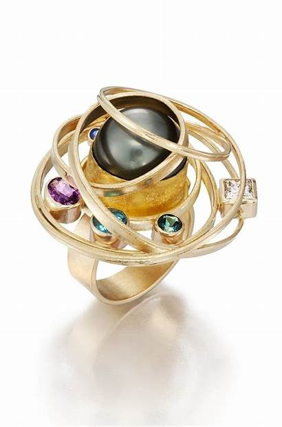 Jewelry Contemporary Pearl Ring Posillico Artist Isabelle