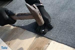 Dachpappe Verlegen Ohne Gasbrenner : garagendach erneuern und vollst ndig sanieren anleitung ~ Orissabook.com Haus und Dekorationen
