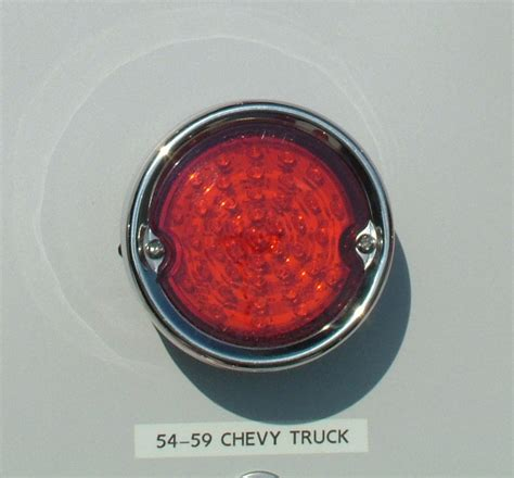 57 chevy led tail lights 1955 59 chevy truck led tail lights with stainless bezel