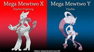 Pokemon X&Y Mega Mewtwo