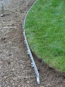 Bache Separation Jardin : bordure tradition en acier galvanis bordure de jardin ~ Premium-room.com Idées de Décoration