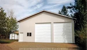 garages and shops built by alvord richardson texmo pole With 40x48 pole barn