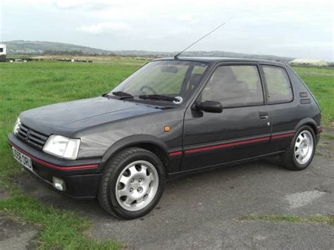 peugeot for sale uk peugeot 205 1 9 gti sold 1992 on car and classic uk