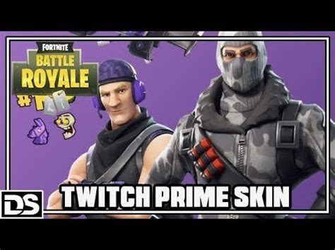 fortnite battle royale deutsch twitch prime skin das