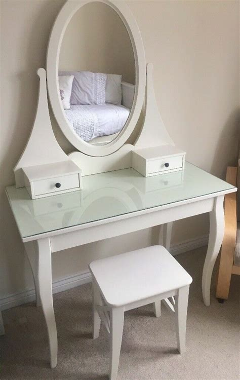 Schminktisch Stuhl Ikea by Ikea White Dressing Table And Stool In Auckley South