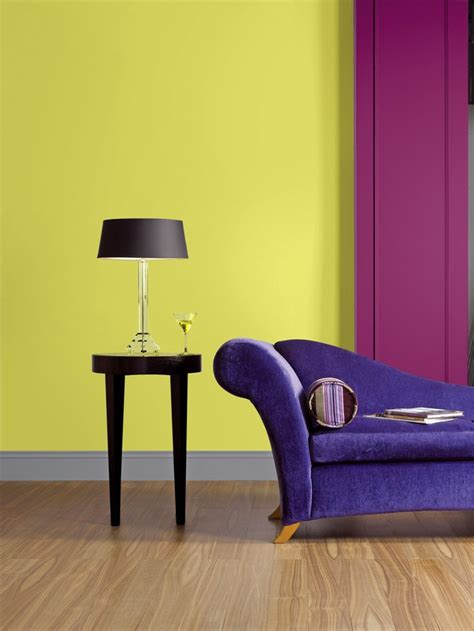 features crown paints feature wall range chartreuse mix