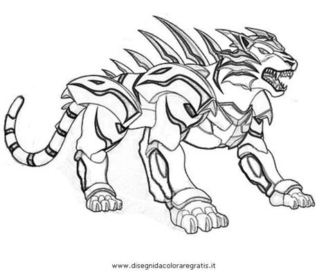 tigrerra bakugan colouring pages colouring pages file
