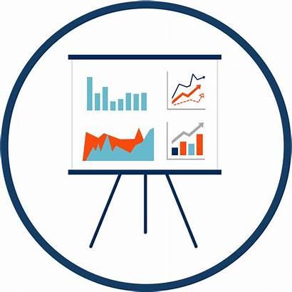 Business Strategy Icon Digital Marketing Goals Web
