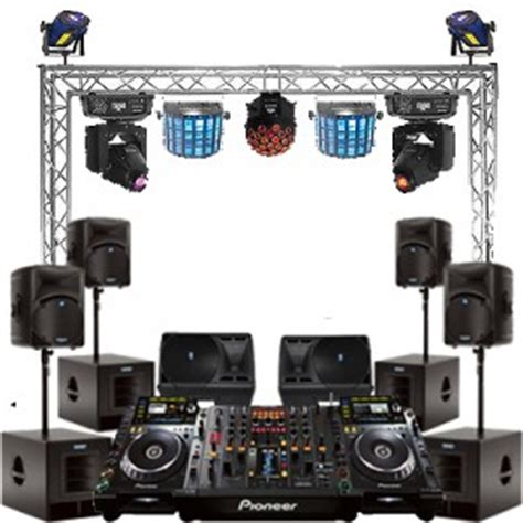 dj lights packages dj equipment rental nyc service