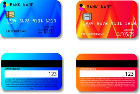 In short, square credit card processing fees largely depend on how you accept the card—whether it's in person, manually entered, or online. Credit card template   Premium Vector