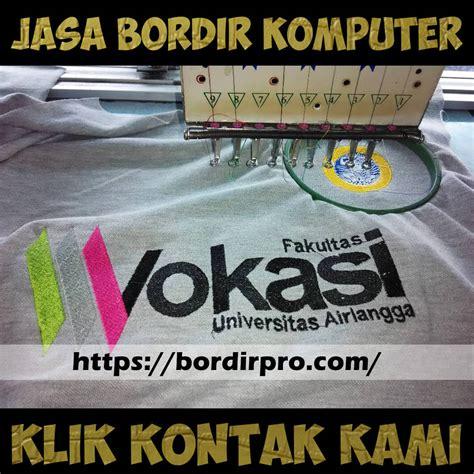 Tempat Jasa Bordir Logo Surabaya Komputer