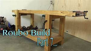 Build a solid workbench on a budget (split top roubo) Part