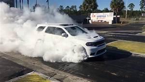 2018 Dodge Durango Srt Burnout