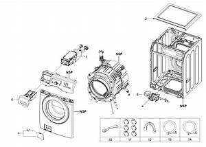 Kenmore 40249032011 Washer Parts