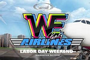 WE Party Airlines: New York City Labor Day Weekend 2013 ...