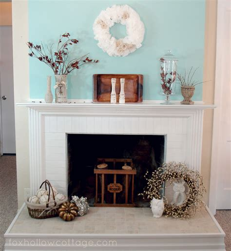 Awesome Plans White Fireplace Mantel with Chimney for