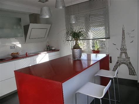 cocinas blancas  rojas cocinas cocinas cocinas
