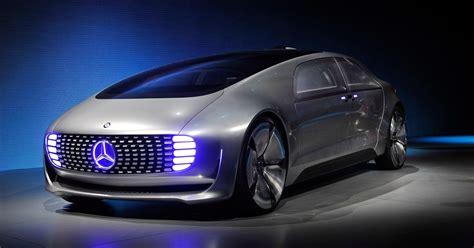 Mercedes BenzCar : Mercedes-benz Unveils Futuristic Car At Ces
