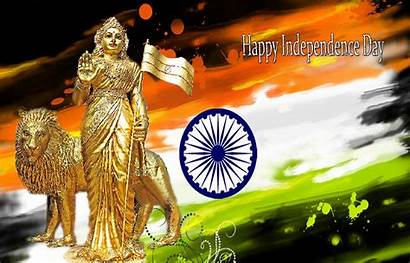 Independence India Indian Wallpapers Quotes Happy Bharat