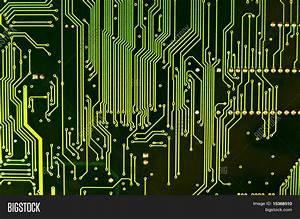 Computer Chip Closeup. Texture Image & Photo | Bigstock