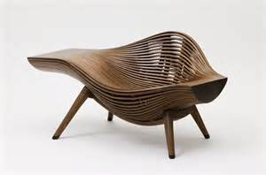 designer chair bae se hwa steam parametric chair design wavy chair