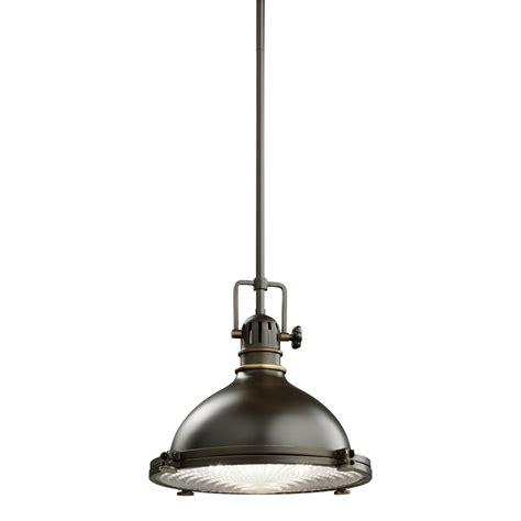 farmhouse style ceiling fans with lights kichler 1 light industrial pendant 2665oz olde bronze