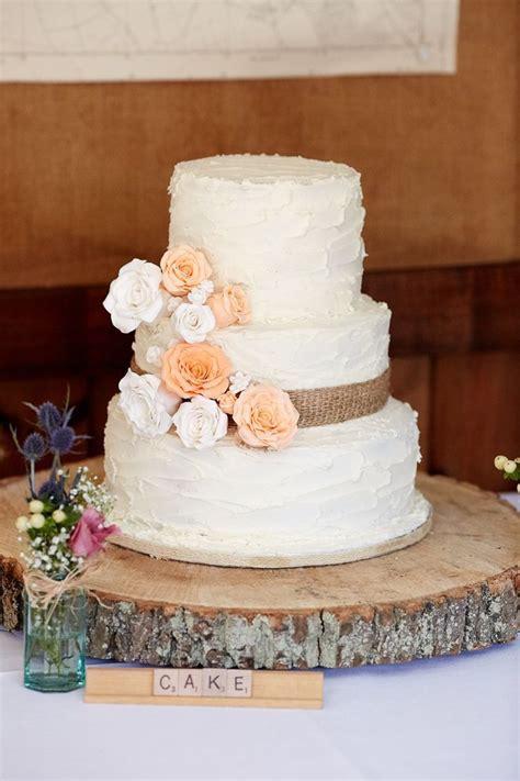30 Burlap Wedding Cakes For Rustic Country Weddings Deer