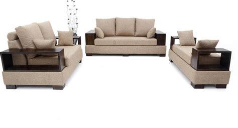 Flipkart Sofa Set by Furnicity Leatherette 3 2 1 Beige Sofa Set Price In