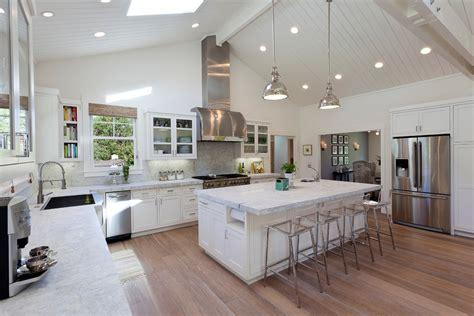 open plan kitchen design ideas creative modern open plan kitchen lighting ideas image 4 howiezine