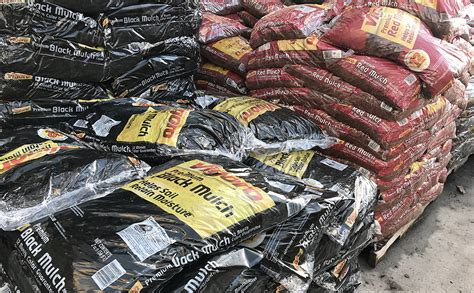 Colored Mulch Bags, Only  At Home Depot & Lowe's!