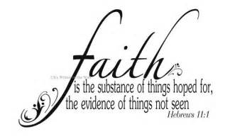 Quotes On Faith Scripture