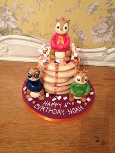 Alvin And The Chipmunks Cake Toppers Uk by 1000 Images About Chipmunks On Cakes Fondant