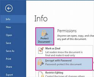 remove a password from a document word With word documents remove password