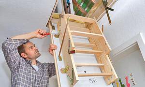 dachbodentreppe selber bauen raumspartreppe selbst de