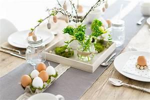 Schöner Wohnen Tischdeko : tischdeko zu ostern g nstig minimalistisch ~ Markanthonyermac.com Haus und Dekorationen