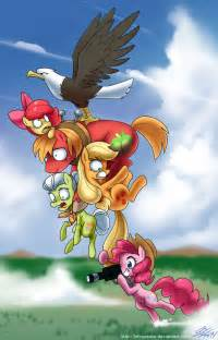 My Little Pony Friendship Is Magic Apple Family