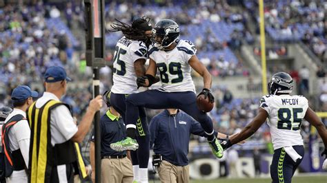 cleveland browns  seattle seahawks st quarter game