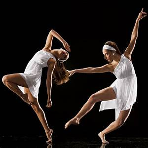 Elegant White & Silver Contemporary Lyrical Ballet Dress ...